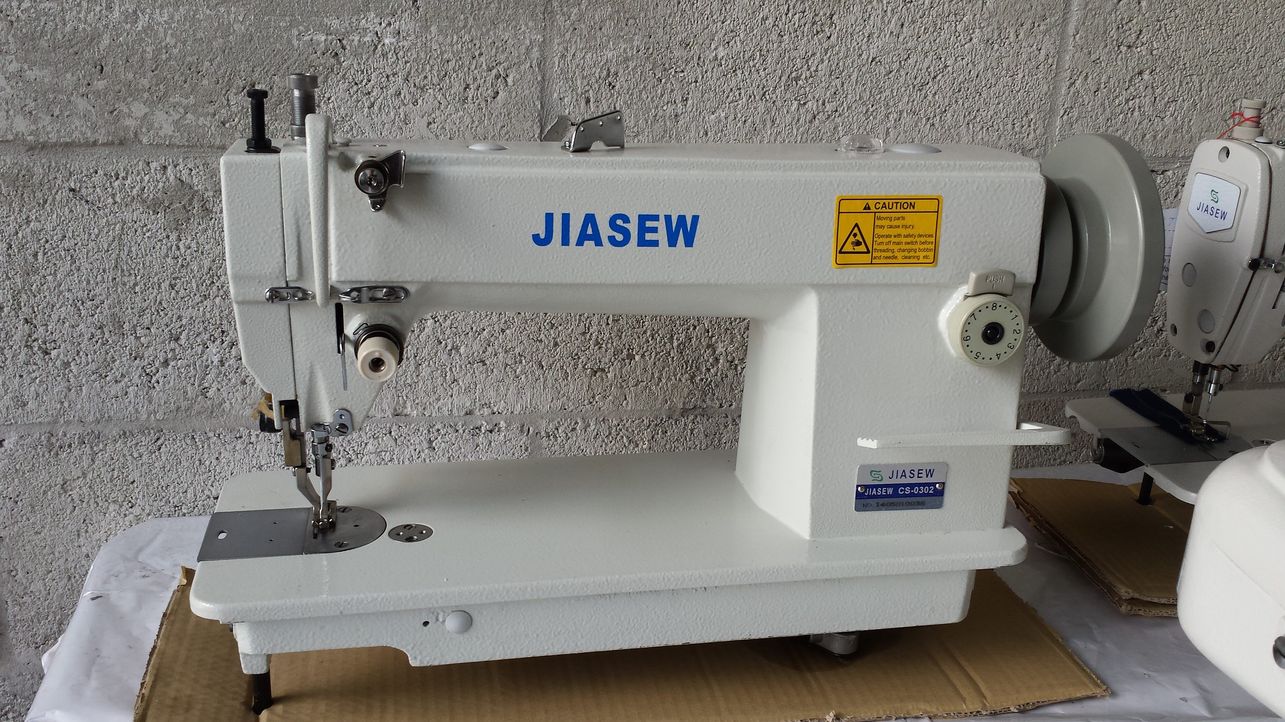 jiasew cs 0302 walking foot needle feed industrial upholstery sewing machine 9mmfootlift with. Black Bedroom Furniture Sets. Home Design Ideas